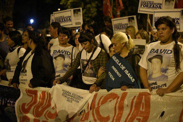 Marchas. Allegados a Pichón han realizado muchas manifestaciones.