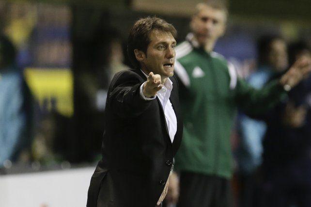 Casi ideal. Guillermo tiene casi todo listo para el partido de ida en Uruguay