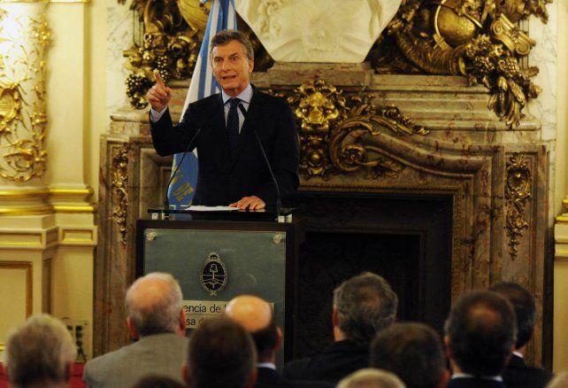 Nadie quiere que haya argentinos angustiados porque no tienen trabajo