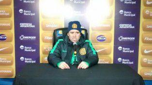 Coudet confió que en Central tomarán los recaudos necesarios para enfrentar al mejor equipo de la Libertadores