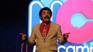 Wilson. El conductor de Noticampi es un logrado rol de Martín Campilongo.
