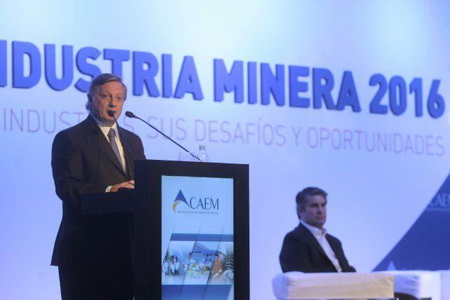 Otra mirada. Aranguren dijo que existen prejuicios sobre el sector minero.