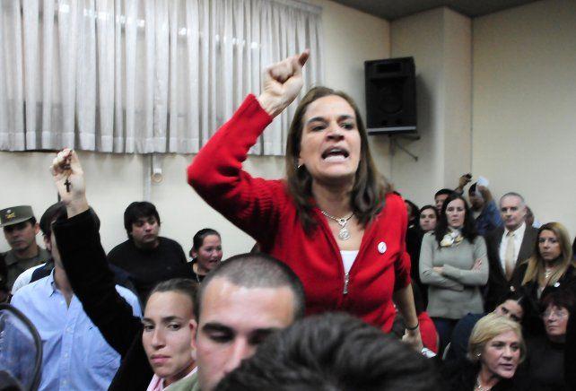 Cecilia Pando se molestó y dijo desconocer quién había dado información sobre la reunión con Garavano.