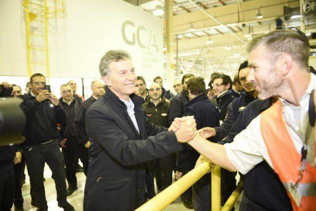 Macri: Los trabajos no se generan por casualidad, si no hay confianza no hay inversión