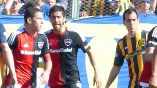 Maxi Rodríguez y César Delgado