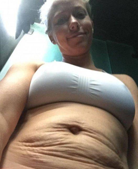 Mirá cómo quedó la exconejita de PlayBoy tras dos embarazos