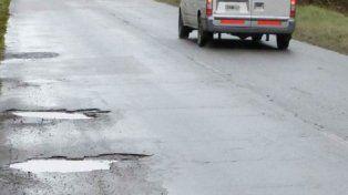 El conductor se niega a pagar el peaje de Caminos de las Sierras por el mal estado de la traza.