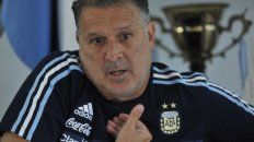 Gerardo Martino, DT de la selección argentina.