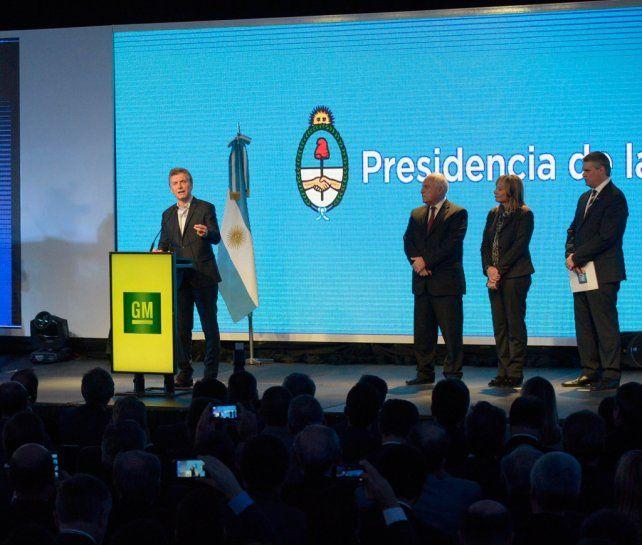Espaldarazo. Macri recibió elogios por su política económica de parte de la CEO global de GM