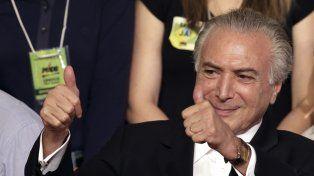 Ganador. Michel Temer fue el vice de Dilma en sus dos mandatos.