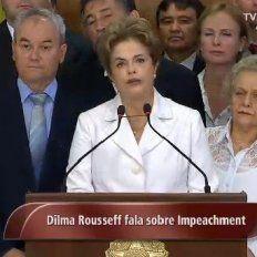La mandataria de Brasil habló tras la votación del Senado.
