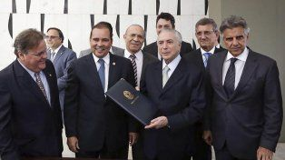 Michel Temer es el nuevo presidente interino de Brasil.
