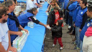 El Sindicato de Camioneros de Santa Fe reclama una solución para la crisis del sector lácteo.