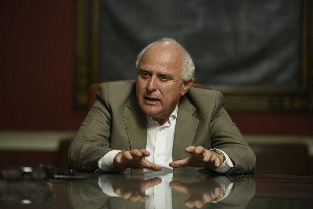 El gobernador Miguel Lifschitz dijo que no habrá más aumentos en las tarifas.