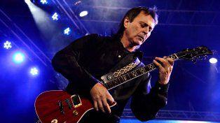 Rock. El guitarrista Tano Marciello toca hoy con su banda en Vorterix.