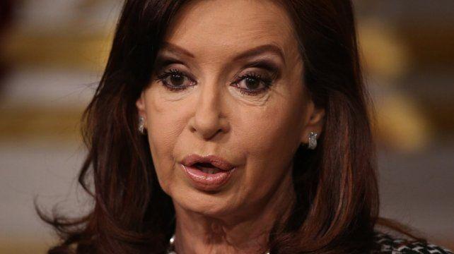 El kirchnerismo saltó en defensa de la expresidenta.