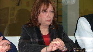 Cristina berra. La senadora advirtió sobre el peligro para el oeste provincial.