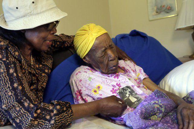 Increíble. Susannah Mushatt Jones tenía 116 años.