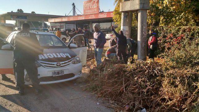 El ataque entre las bandas de motoqueros se produjo cerca de una estación de servicios en Luján.
