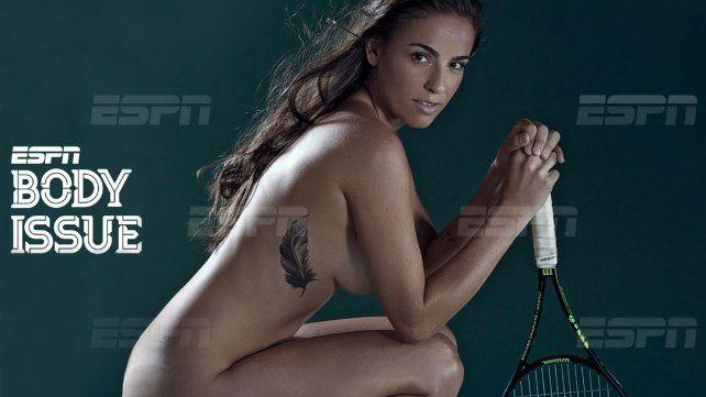 Paula Ormaechea se animó al Body Issue que le propuso la cadena ESPN.