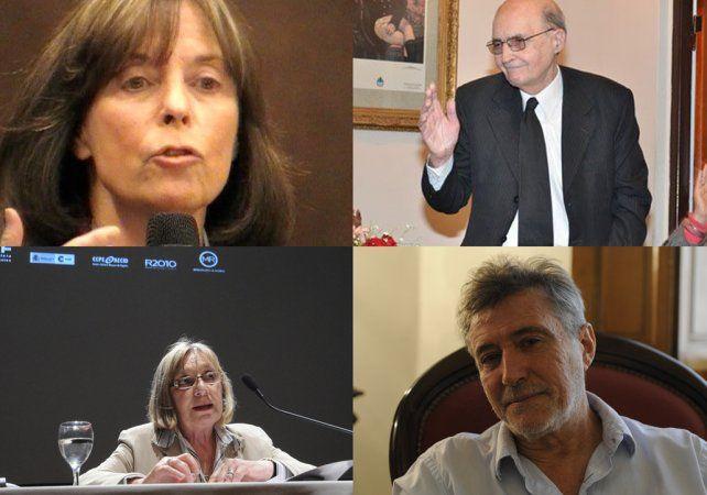Referentes. Las distinciones se entregarán en septiembre próximo en Buenos Aires.