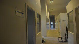 Cerca de la inauguración. Se prevé que los trabajos en la Sala 6 estén concluidos en cuatro meses.