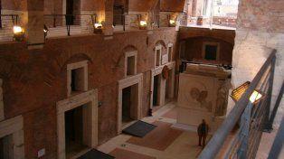 Revelador. Los mercados de Trajano exhiben más de 150 objetos con la marca con que Roma protegió su cultura.