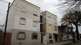 Escenario. El edificio de pasaje Lejarza al 5600 donde mataron a Martínez.