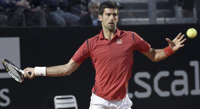 Rumbo a París. Djokovic ganó pero no está fino en su juego. Hoy buscará festejar para llegar bien a Roland Garros.