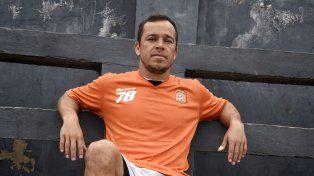 Qué goleador. Ezequiel Petrovelli se tiene mucha fe para el partido de hoy.