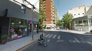 El robo ocurrió en un negocio de Mendoza y Paraguay.