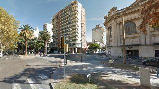 El ataque sucedió en la esquina de Salta y Oroño.