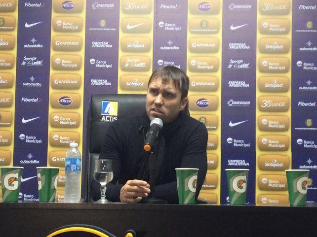 Coudet se refirió al duelo copero del jueves ante Atlético Nacional.