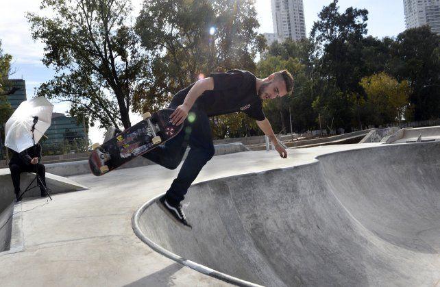 A rodar. El circuito de patinaje servirá para impulsar los deportes alternativos en Rosario.