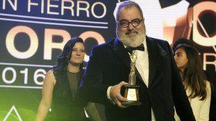 Polémico. Jorge Lanata fue el gran ganador de la noche con cuatro galardones por Periodismo para todos.