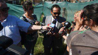 El fiscal Adrián Spelta investiga el crimen del taxistas.