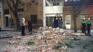 la explosion de calle balcarce se debio a la acumulacion de gas entre las paredes