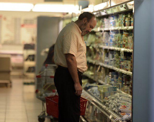 El aumento de precios provocó una retracción del consumo
