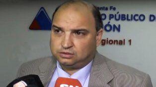 Roberto Apullán impulsó el allanamiento del D4 y de comercios en Santa Fe. Ayer ordenó uno en Rosario.