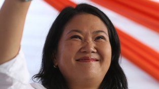 La cuestionada Keiko Fujimori.