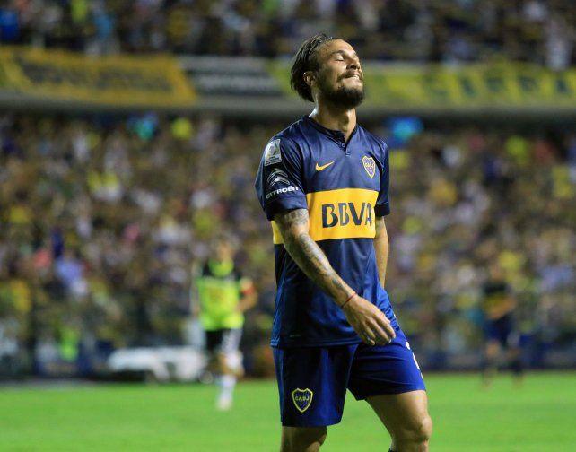 Daniel Osvaldo le costó a Boca 1.500 dólares por minuto jugado