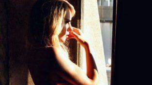 Melina Lezcano publicó una sensual imagen en Instagram en donde aparece desnuda.