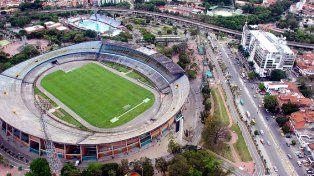 El estadio donde el jueves se enfrentarán Atlético Nacional de Medellín y Rosario Central para definir uno de los semifinalistas de la Copa Libertadores.