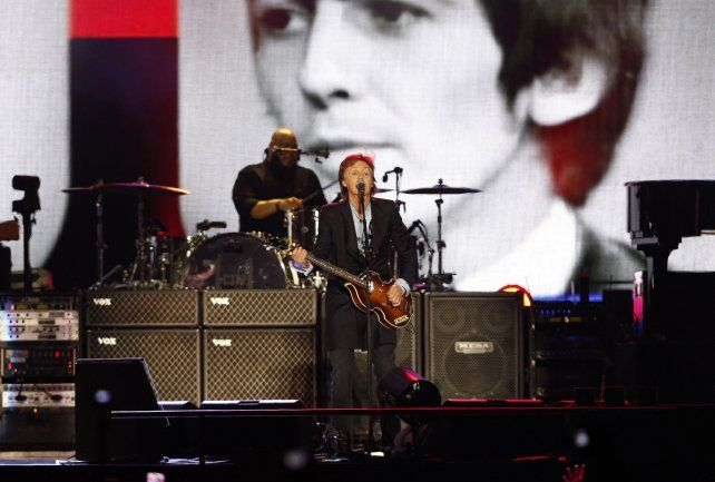 Cant Buy Me Love fue otro de los éxitos de The Beatles que tocó sir Paul McCartney en La Plata.