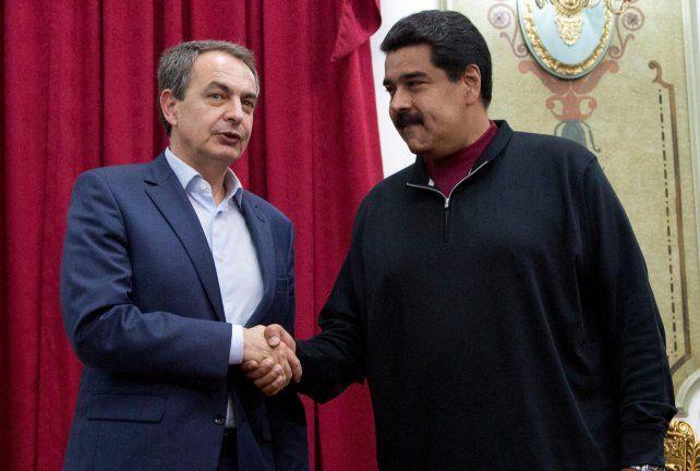Mediador. Rodríguez Zapatero buscará terciar en la crisis venezolana.