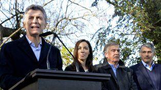 Lanzamiento. El jefe del Estado presentó el plan en el marco de un acto realizado en San Andrés de Giles.