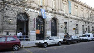 El Hospital Provincial de Rosario. Allí atendieron a uno de los chicos heridos en la pelea.