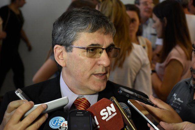 Franco es ministro de Hacienda del gobierno pampeano.