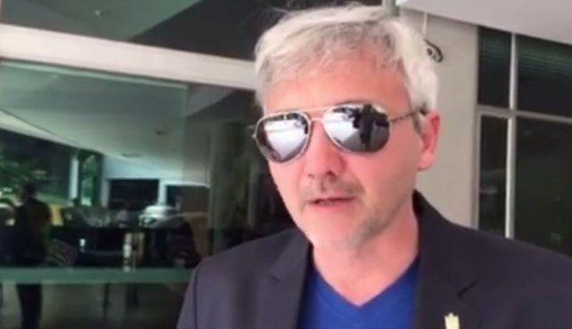 Ricardo Carloni habló esta mañana en exclusiva con el enviado especial de La Capital en Medellín.