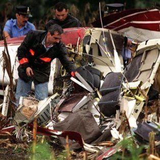 Carlos Menem Jr. murió al caer el helicóptero que pilotaba en la zona rural de Ramallo.